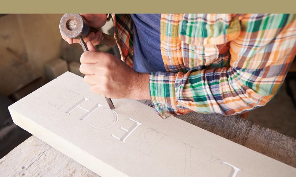 carving tomb inscription